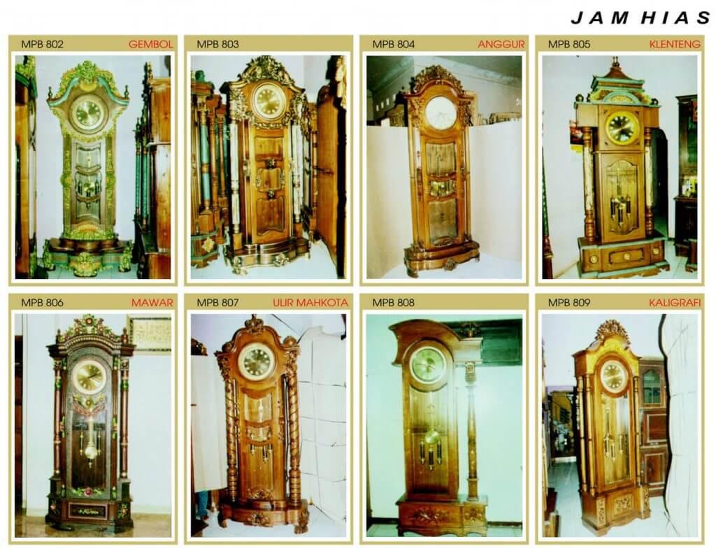 Katalog Jam Hias