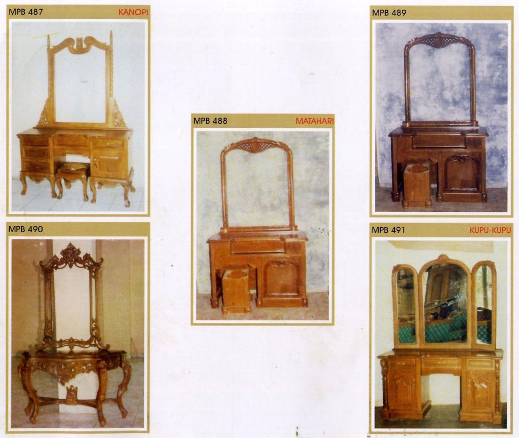 Katalog meja Rias