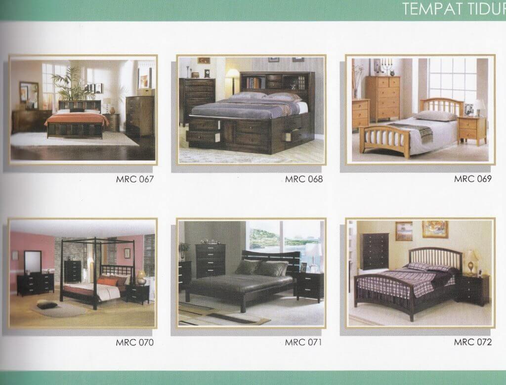 katalog tempat tidur minimalis