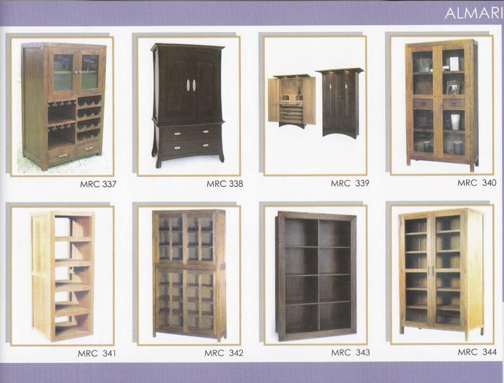 Katalog lemari jati minimalis