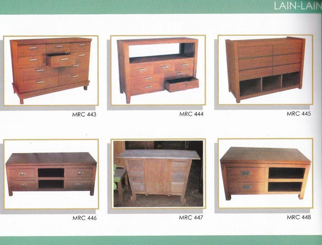 katalog bufet Tv minimalis