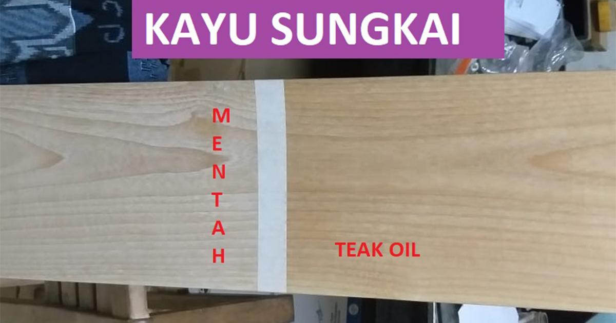 furniture kayu sungkai