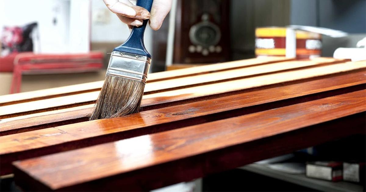 finishing kayu dengan aqua politur