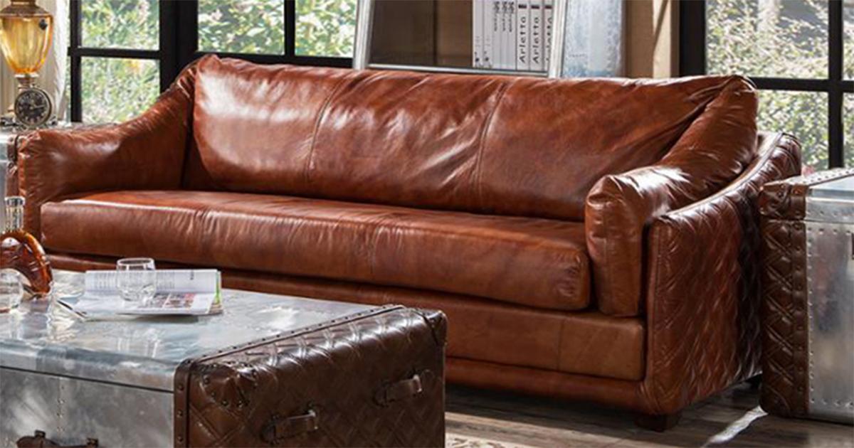 kulit asli untuk sofa